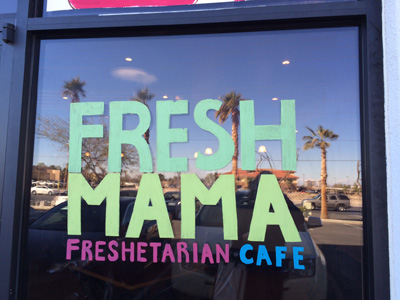 Fresh Mama Cafe in Nevada - 15 minutes from Vegas