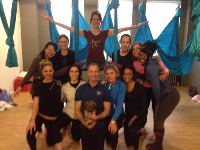 Antigravity Yoga Teacher Training NYC!