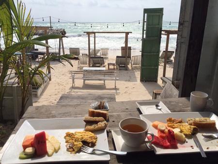 Breakfast at Posada Margherita