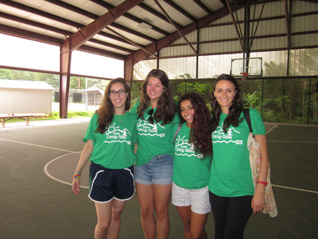 Camp Oasis co-counselors!