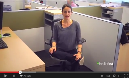 Chair Yoga Video